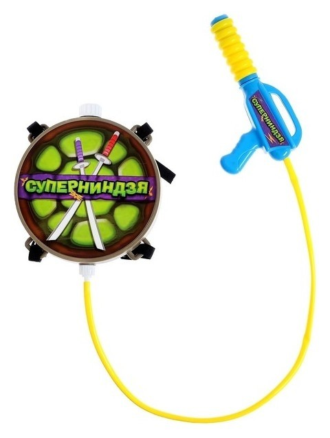 Водный пистолет «Суперниндзя», ранец-баллон  Woow toys