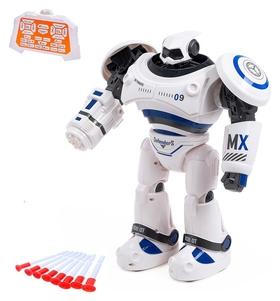 Робот интерактивный радиоуправляемый Crazon с аккумулятором, цвет синий