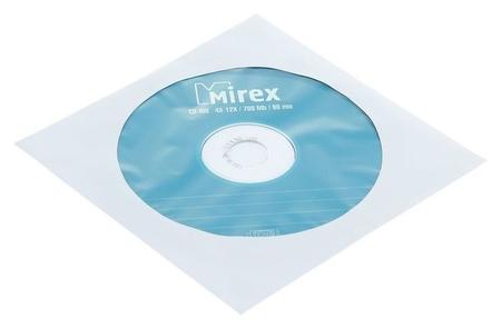 Диск Cd-rw Mirex, 4-12x, 700 Мб, конверт, 1 шт  Mirex