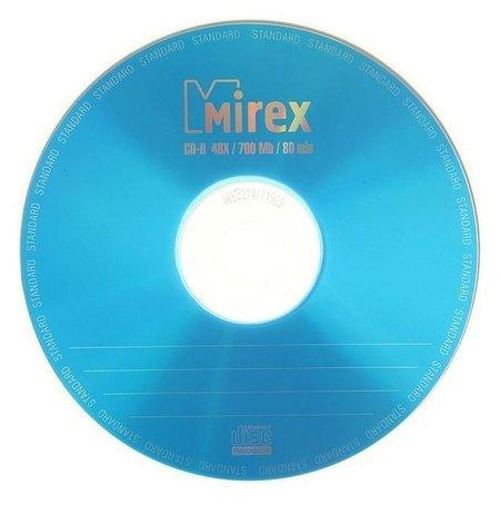 Диск Cd-r Mirex Standard, 48x, 700 Мб, конверт, 1 шт Mirex
