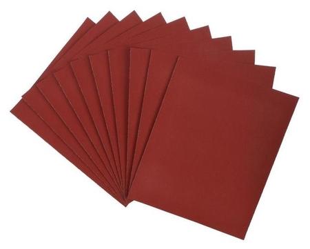 Шкурка шлифовальная в листах Lom, на бумажной основе водостойкая, 230 х 280, р320, 10 шт.  LOM