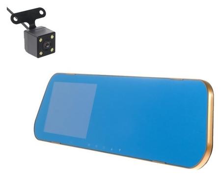 Видеорегистратор Torso, две камеры, HD 1080p, размер 31х8 см, TFT 4.3, обзор 120°  Torso