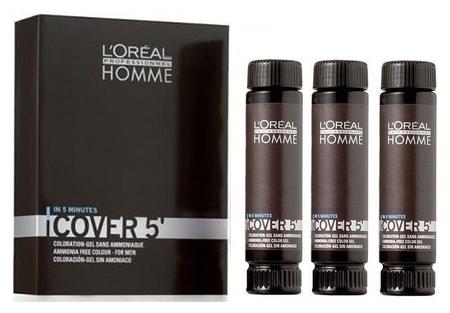 Гель для волос тонирующий для мужчин Cover 5  L'oreal Professionnel