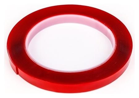 Клейкая лента Torso, прозрачная, двусторонняя, акриловая, 10 мм х 5 м  Torso