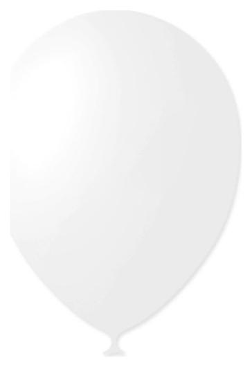 """Шар латексный 9"""", декоратор, набор 100 шт., цвет белый  Latex Occidental"""