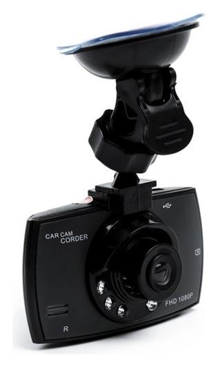 Видеорегистратор Torso, 1080p, TFT 2.4, обзор 120°, черный  Torso