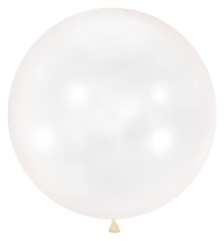 """Шар латексный 36"""", декоратор, цвет прозрачный  Latex Occidental"""