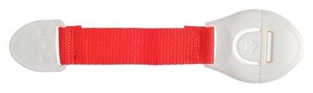 Блокиратор двери гибкий, цвет красный  Крошка Я