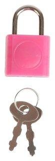 Замочек с ключиком для шкатулки металл, пластик набор 5 шт с286 3,1х1,9 см  Арт узор