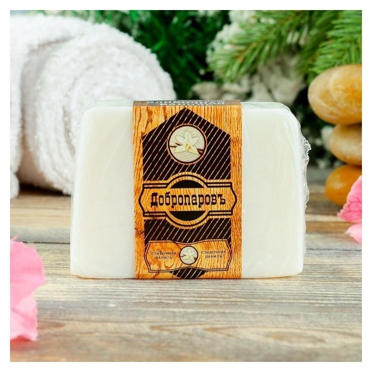 """Косметическое мыло для бани и сауны """"Сливочная ваниль"""",""""добропаровъ"""", 100 гр.  Добропаровъ"""