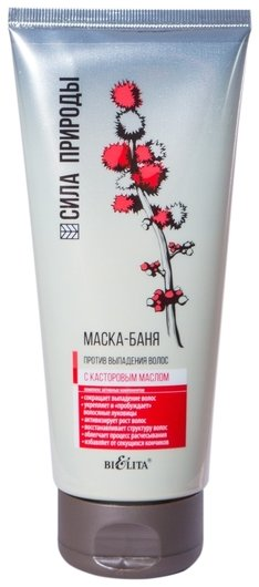 Маска-баня с касторовым маслом против выпадения волос  Белита - Витекс