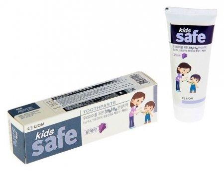 Зубная паста детская Виноград Kids Safe  CJ Lion