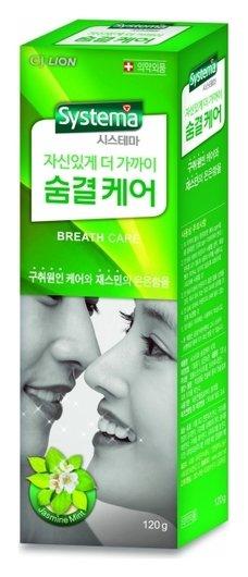Зубная паста Уход за дыханием Dentor Systema  CJ Lion