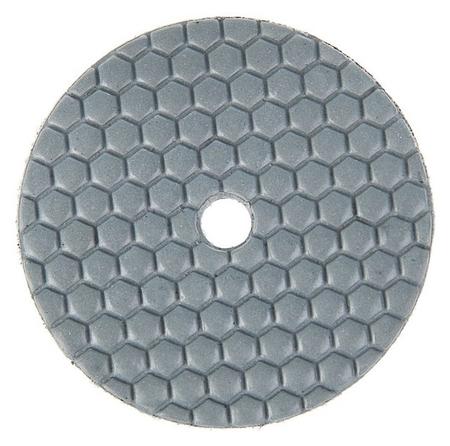Алмазный гибкий шлифовальный круг Tundra, для сухой шлифовки, 100 мм, Buff черный  Tundra