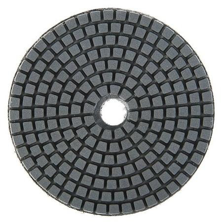 Алмазный гибкий шлифовальный круг Tundra, для мокрой шлифовки, 100 мм, Buff черный  Tundra