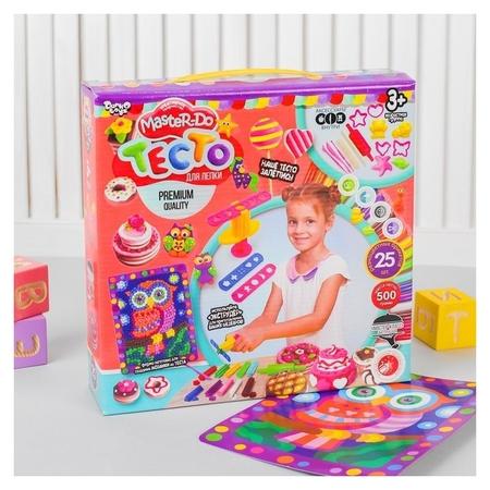 Тесто для лепки» серия «Master DO» коробка 25 цветов  Danko toys