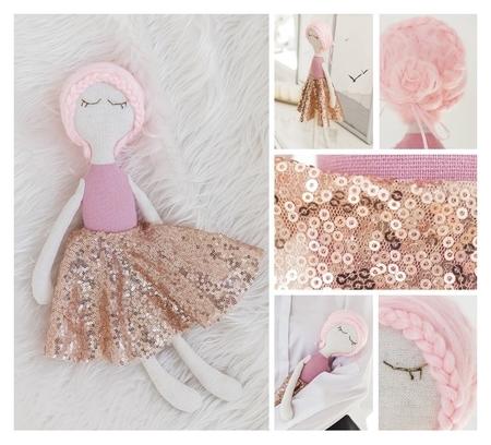 Интерьерная кукла «Юки», набор для шитья, 18.9 × 22.5 × 2 см  Арт узор
