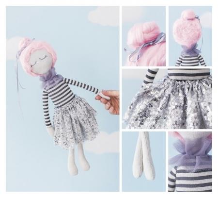 Интерьерная кукла «Ханна», набор для шитья, 18 × 22.5 × 2 см  Арт узор