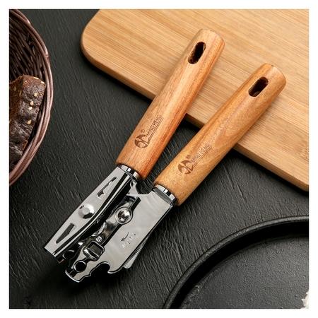 Нож консервный «Дорадо», 21 см, ручки из бразильской гевеи  Доляна