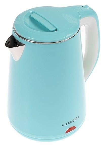 Чайник электрический Luazon Lsk-1811, 2000 Вт, 2.3 л, голубой  LuazON