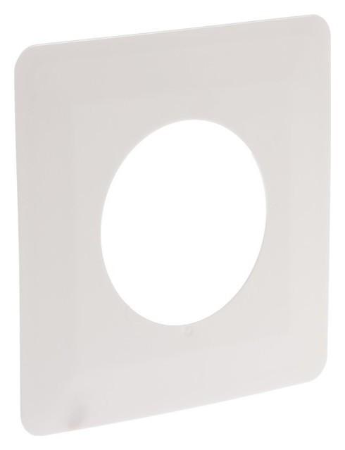 Рамка для защиты обоев Tdm, 130х130 мм, одноместная, белая TDM Еlectric