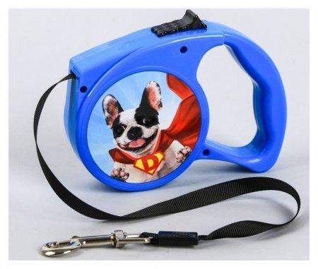 Рулетка Super Dog 3 м  Пушистое счастье