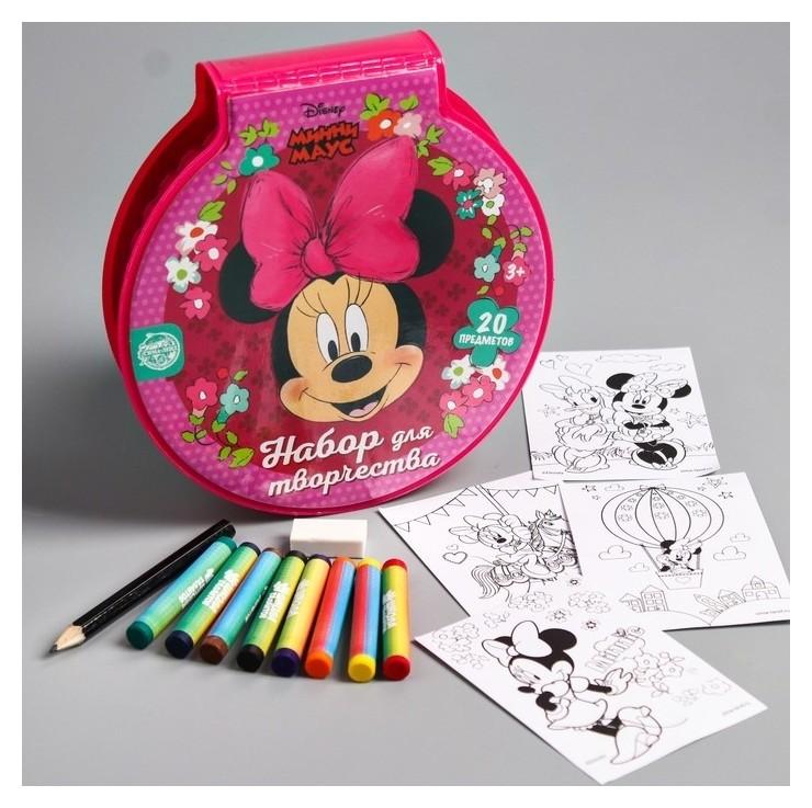 "Набор для рисования ""Минни маус"" 20 предметов  Disney"