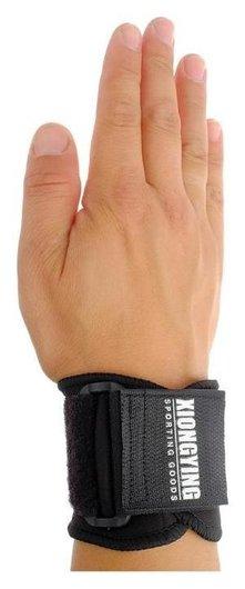 Защита запястья (Пара-2 шт), цвет чёрный  Onlitop