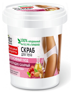 Скраб для тела виноградно-сахарный  Фитокосметик