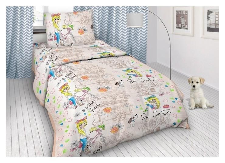 Детское постельное бельё 1,5 сп.  Monro