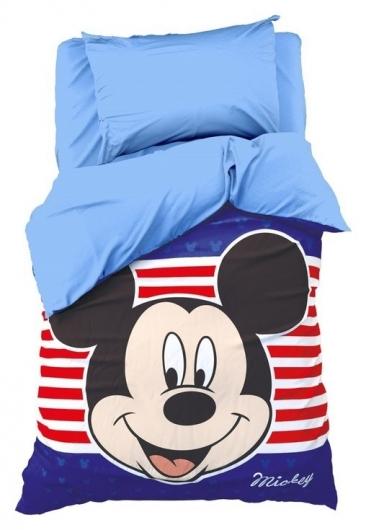 Детское постельное бельё Микки маус 1,5 спальное  Disney