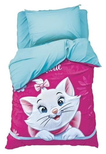 """Детское постельное бельё 1,5 сп """"Мари"""" 143х215 см, 150х214 см, 50х70 см -1 шт., поплин 125 г/м2  Disney"""