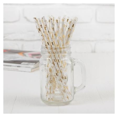 Трубочки для коктейля «Единорог», набор 25 шт.  Страна Карнавалия