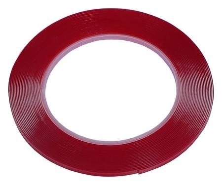 Лента клейкая Torso, прозрачная, двусторонняя, акриловая, 4 мм X 7 м  Torso