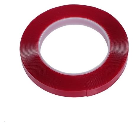 Клейкая лента Torso, прозрачная, двусторонняя, акриловая, 12 мм X 7 м  Torso