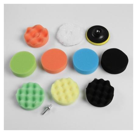 Набор кругов для полировки кузова Torso, 100 мм, 11 предметов  Torso