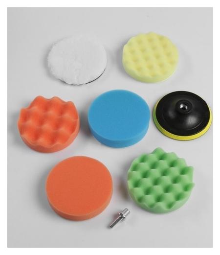 Набор для полировки кузова Torso, 125 мм, 8 предметов Torso
