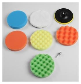 Набор кругов для полировки кузова Torso, 150 мм, 8 предметов  Torso