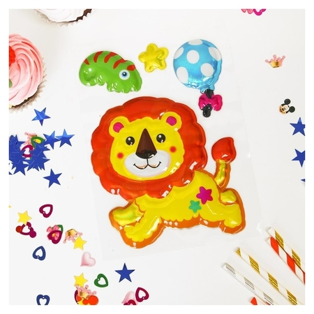 Наклейки для декора «Львёнок»  Страна Карнавалия