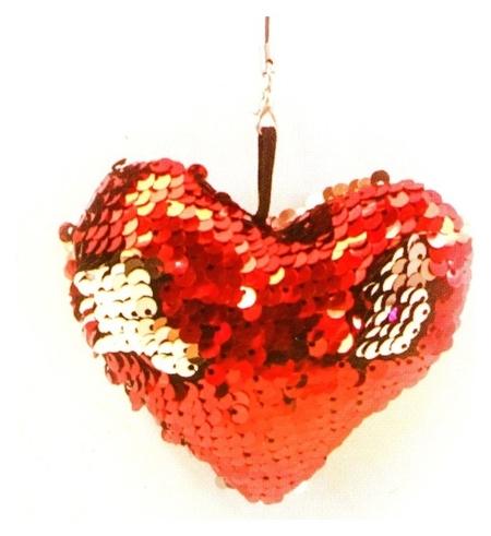 Набор для создания подвески из ткани «Сердечко», с пайетками  Школа талантов