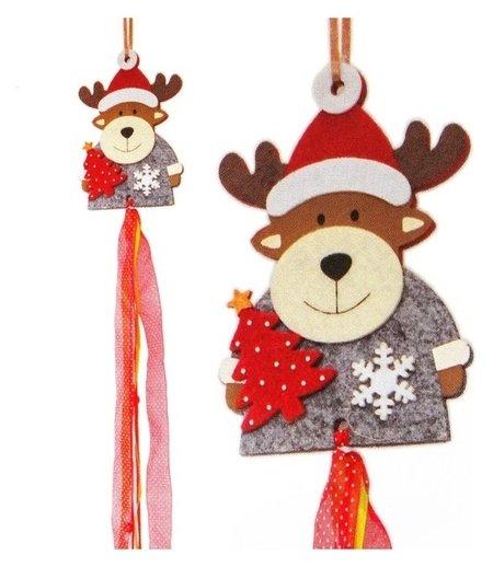 Набор для создания новогодней подвески «Олень с ёлочкой»  Школа талантов