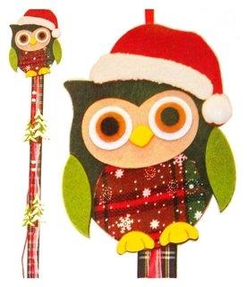 Набор для создания новогодней подвески «Совушка в шапочке» Школа талантов