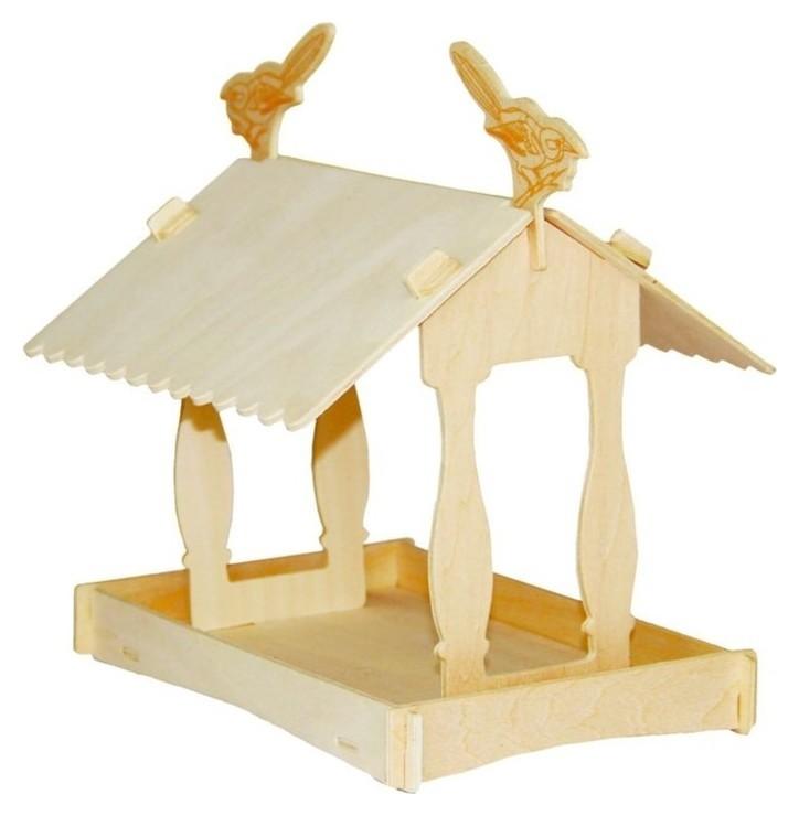"Сборная деревянная модель ""Кормушка II""  Чудо-дерево"
