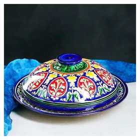 Блинница 30 см Риштанская керамика