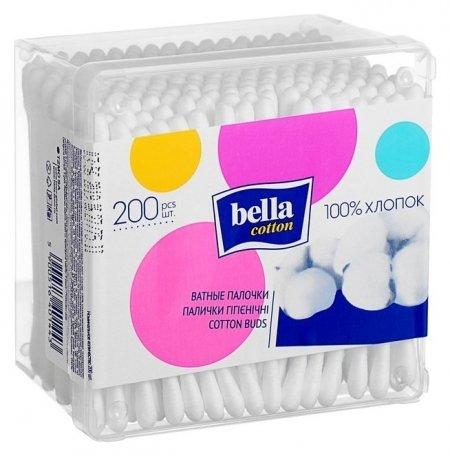 Ватные палочки Bella Cotton 200 шт. Bella