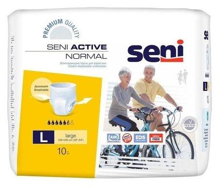 Трусы впитывающие для взрослых Seni Active Normal Large по 10 шт.  Bella