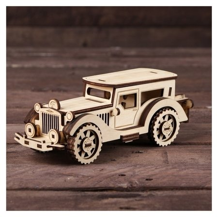 Cборная модель «Ретро автомобиль»  Альтаир