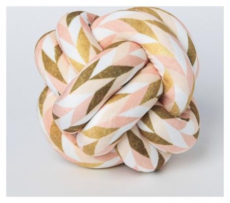 Подушка-узел «Геометрия», 19 × 19 см  Арт узор