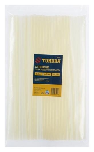 Стержни клеевые Tundra, 7 х 300 мм, 0.5 кг (42 шт.)  Tundra