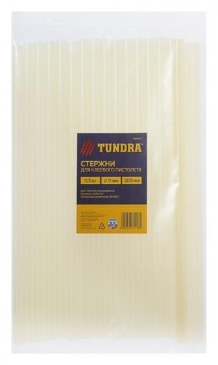 Стержни клеевые Tundra, 11 х 300 мм, 0.5 кг (18 шт.)  Tundra